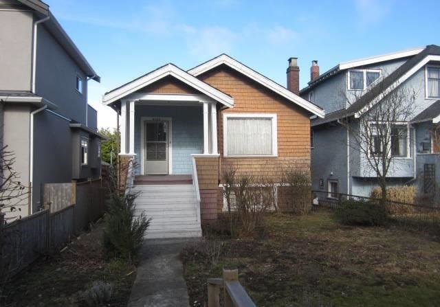 Main Photo: 4107 12TH AVENUE in Vancouver West: Home for sale : MLS®# R2144563