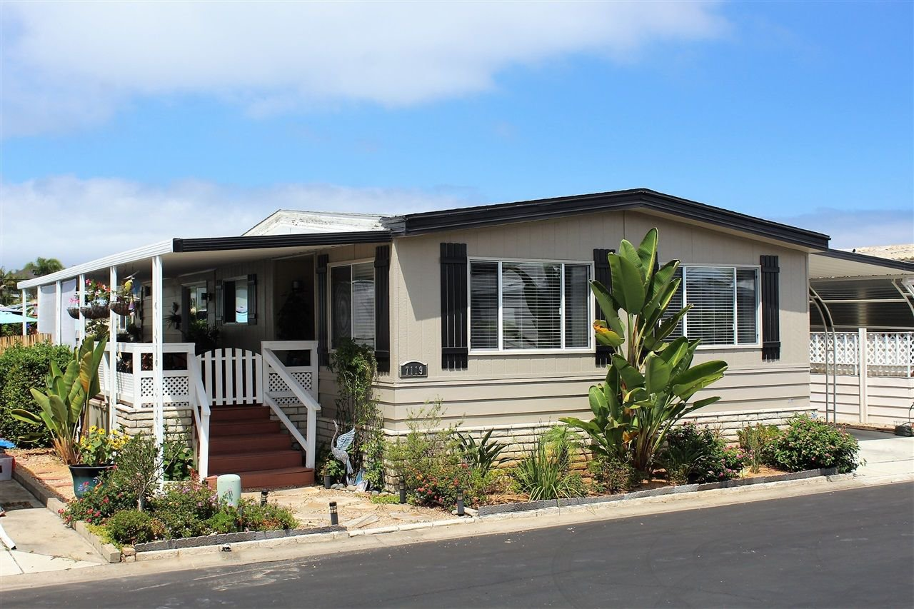 Main Photo: CARLSBAD WEST Mobile Home for sale : 2 bedrooms : 7119 Santa Barbara #109 in Carlsbad