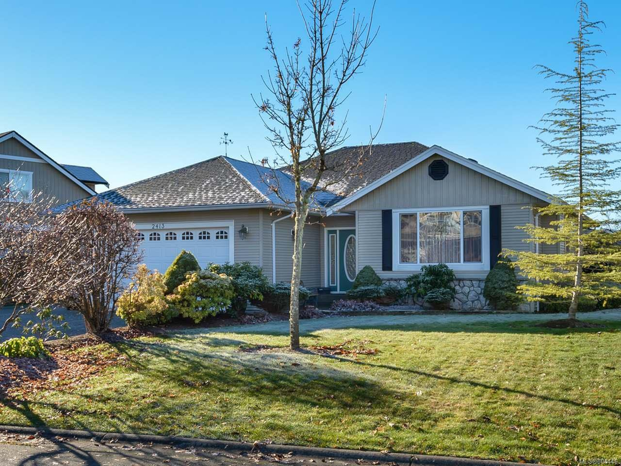 Main Photo: 2413 Stirling Cres in COURTENAY: CV Courtenay East House for sale (Comox Valley)  : MLS®# 804446