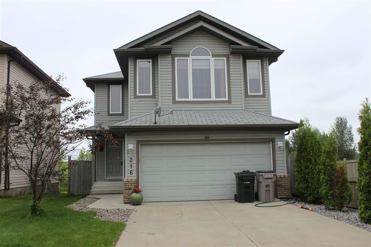 Main Photo: 216 BROOKVIEW WY: Stony Plain House for sale : MLS®# E4165007
