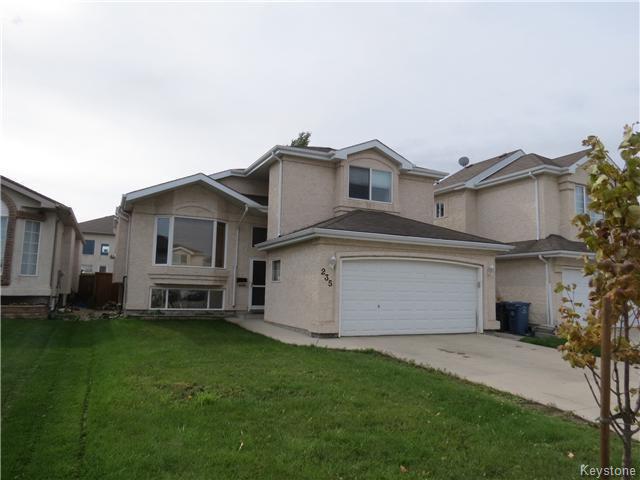 Main Photo: 235 Vineland Crescent in WINNIPEG: Fort Garry / Whyte Ridge / St Norbert Residential for sale (South Winnipeg)  : MLS®# 1422601