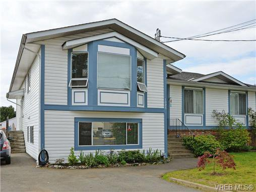 Main Photo: 1025 Goldstream Ave in VICTORIA: La Langford Proper Half Duplex for sale (Langford)  : MLS®# 699433