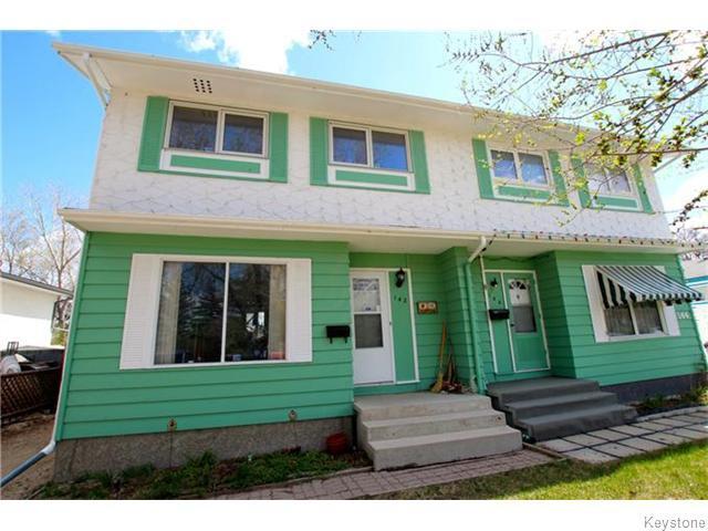 Main Photo: 142 Bernadine Crescent in WINNIPEG: Westwood / Crestview Residential for sale (West Winnipeg)  : MLS®# 1530424