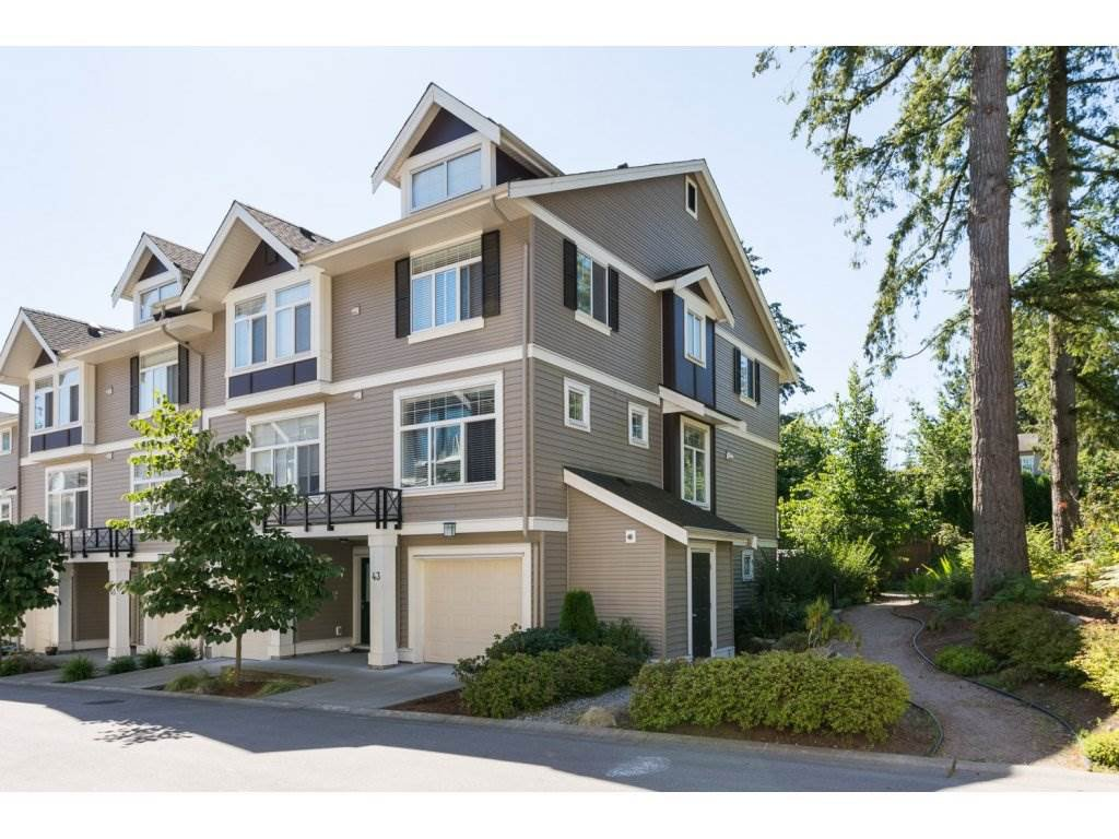 "Main Photo: 43 14377 60 Avenue in Surrey: Sullivan Station Townhouse for sale in ""Blume"" : MLS®# R2097452"