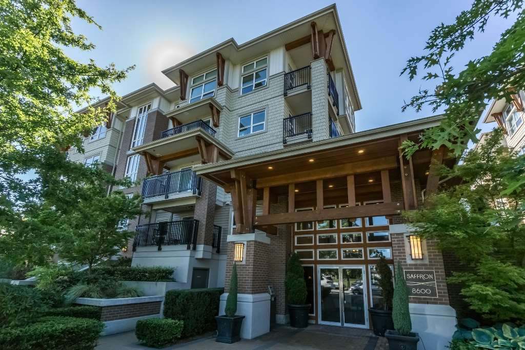 "Main Photo: 111 8600 PARK Road in Richmond: Brighouse Condo for sale in ""SAFFRON"" : MLS®# R2114504"