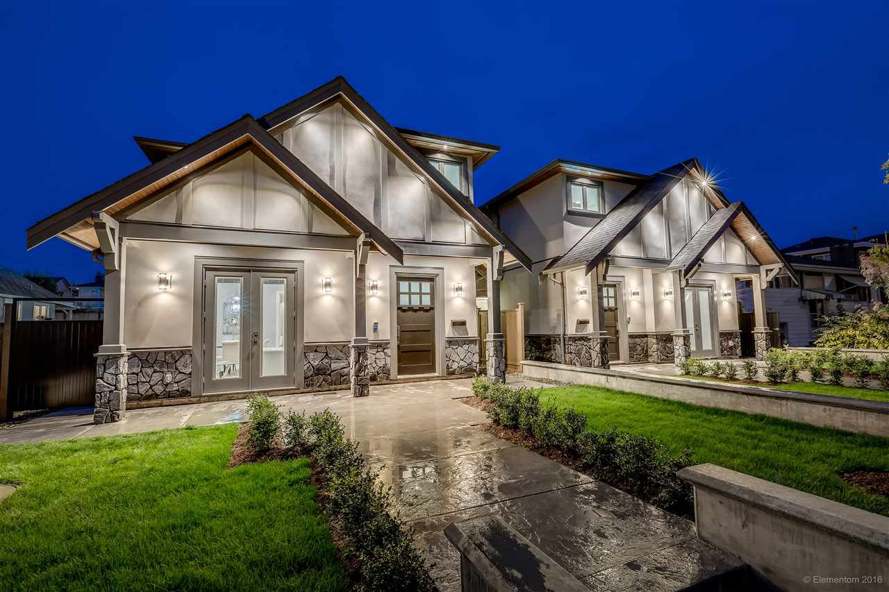 Main Photo: 6587 HALIFAX Street in Burnaby: Parkcrest 1/2 Duplex for sale (Burnaby North)  : MLS®# R2129094