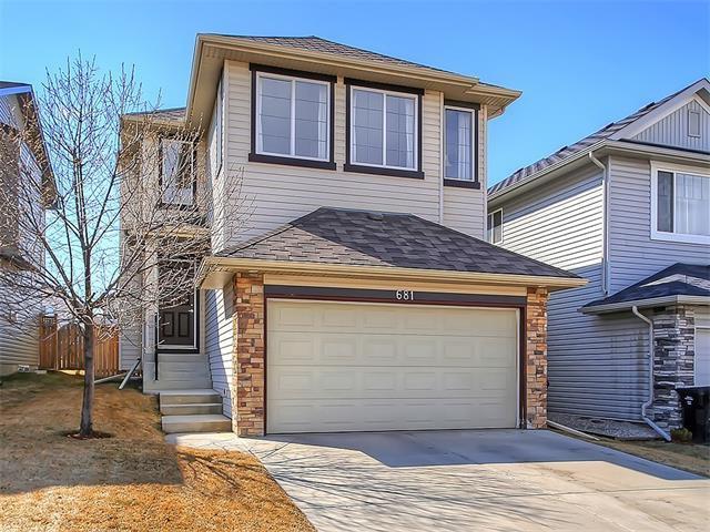 Main Photo: 681 CRANSTON Drive SE in Calgary: Cranston House for sale : MLS®# C4110392