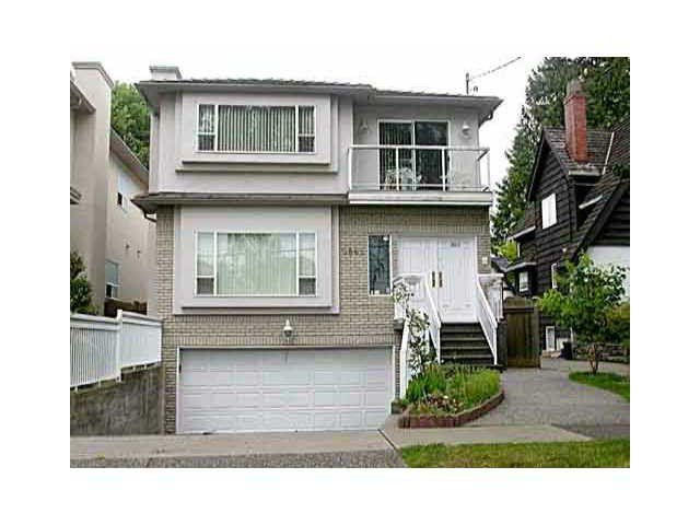 Main Photo: 2865 W 42ND AV in Vancouver: Kerrisdale House for sale (Vancouver West)  : MLS®# V1073279