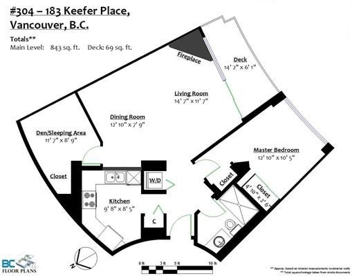 """Photo 2: Photos: 304 183 KEEFER Place in Vancouver: Downtown VW Condo for sale in """"PARIS PLACE"""" (Vancouver West)  : MLS®# R2212938"""