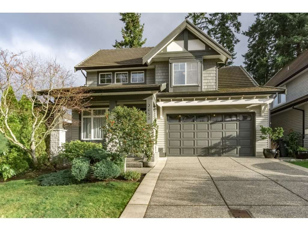 "Main Photo: 3658 154 Street in Surrey: Morgan Creek House for sale in ""Rosemary Heights"" (South Surrey White Rock)  : MLS®# R2226303"