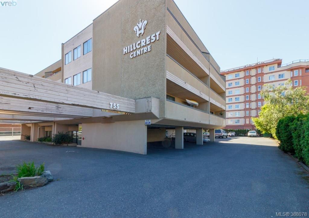 Main Photo: 408 755 Hillside Avenue in VICTORIA: Vi Hillside Condo Apartment for sale (Victoria)  : MLS®# 388078