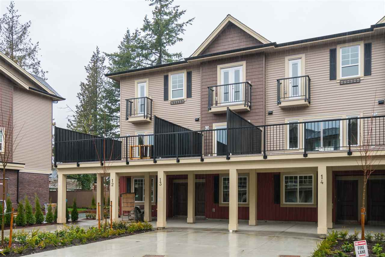 Main Photo: 13 2530 JANZEN Street in Abbotsford: Abbotsford West Townhouse for sale : MLS®# R2518794
