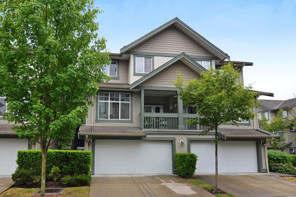"Main Photo: 65 6050 166TH Street in Surrey: Cloverdale BC Townhouse for sale in ""WESTFIELD"" (Cloverdale)  : MLS®# F1442230"