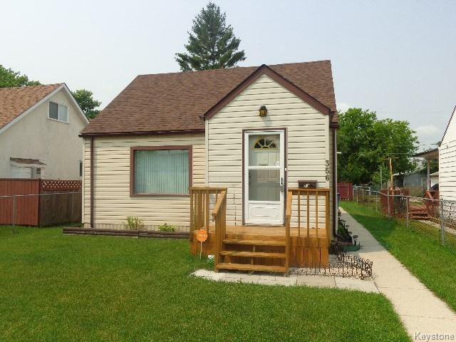 Main Photo: 356 Madison Street in WINNIPEG: St James Residential for sale (West Winnipeg)  : MLS®# 1517865