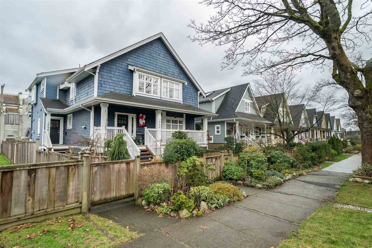 Main Photo: 1888 E 8TH Avenue in Vancouver: Grandview VE Townhouse for sale (Vancouver East)  : MLS®# R2033824