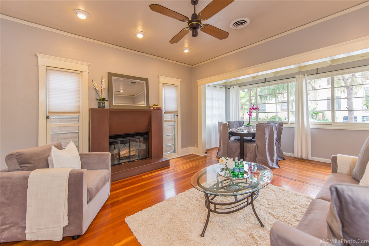 Main Photo: HILLCREST House for sale : 2 bedrooms : 1656 Pennsylvania Ave in San Diego