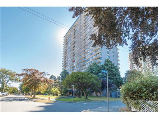 Main Photo: 1509 647 Michigan Street in VICTORIA: Vi James Bay Condo Apartment for sale (Victoria)  : MLS®# 368828