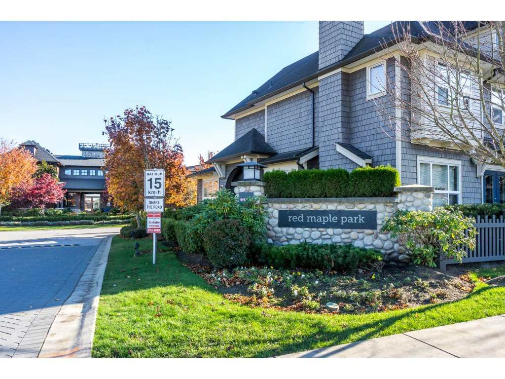 """Main Photo: 153 7938 209 Street in Langley: Willoughby Heights Townhouse for sale in """"RED MAPLE PARK"""" : MLS®# R2229009"""