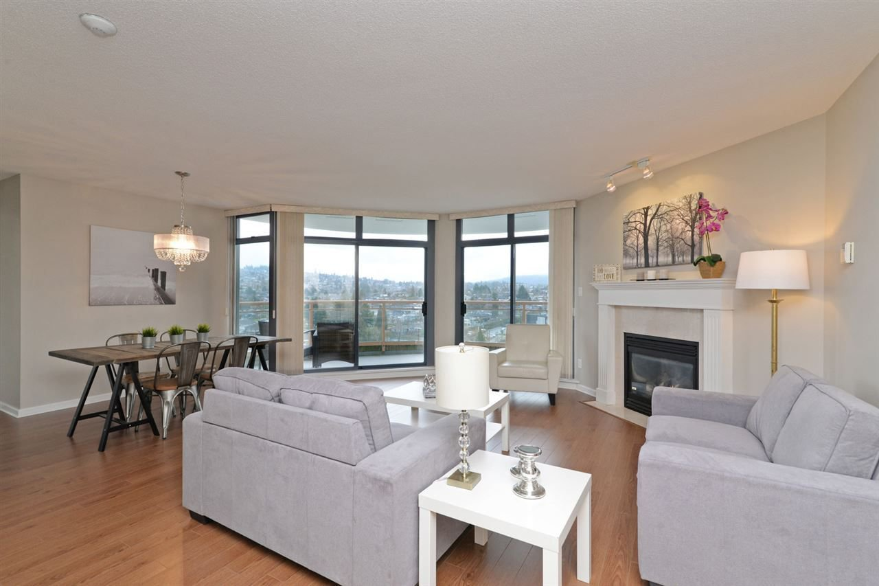 """Main Photo: 1202 4425 HALIFAX Street in Burnaby: Brentwood Park Condo for sale in """"THE POLARIS"""" (Burnaby North)  : MLS®# R2237592"""