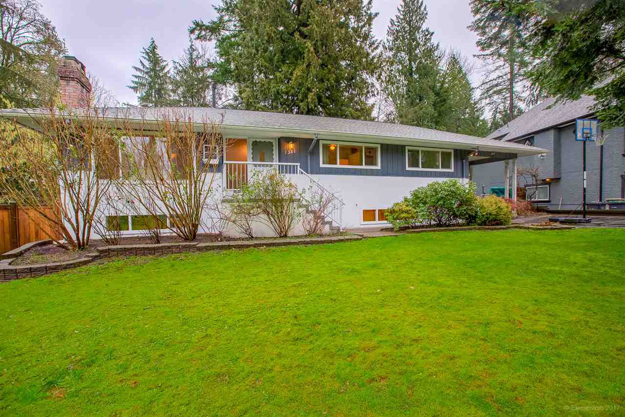 """Main Photo: 1381 CHINE Crescent in Coquitlam: Harbour Chines House for sale in """"Harbour Chines"""" : MLS®# R2262482"""