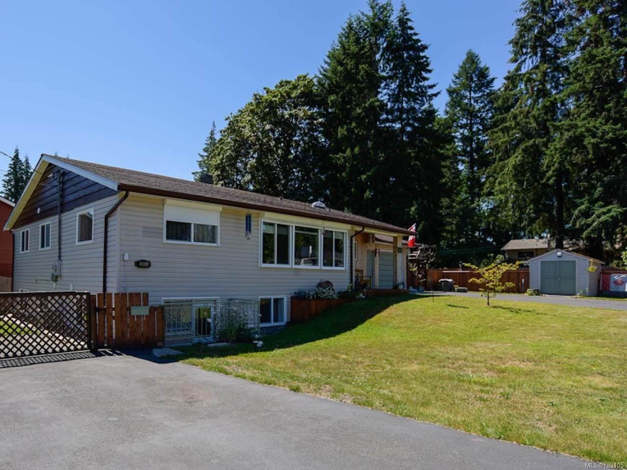 Main Photo: 1240 4TH STREET in COURTENAY: CV Courtenay City House for sale (Comox Valley)  : MLS®# 793105