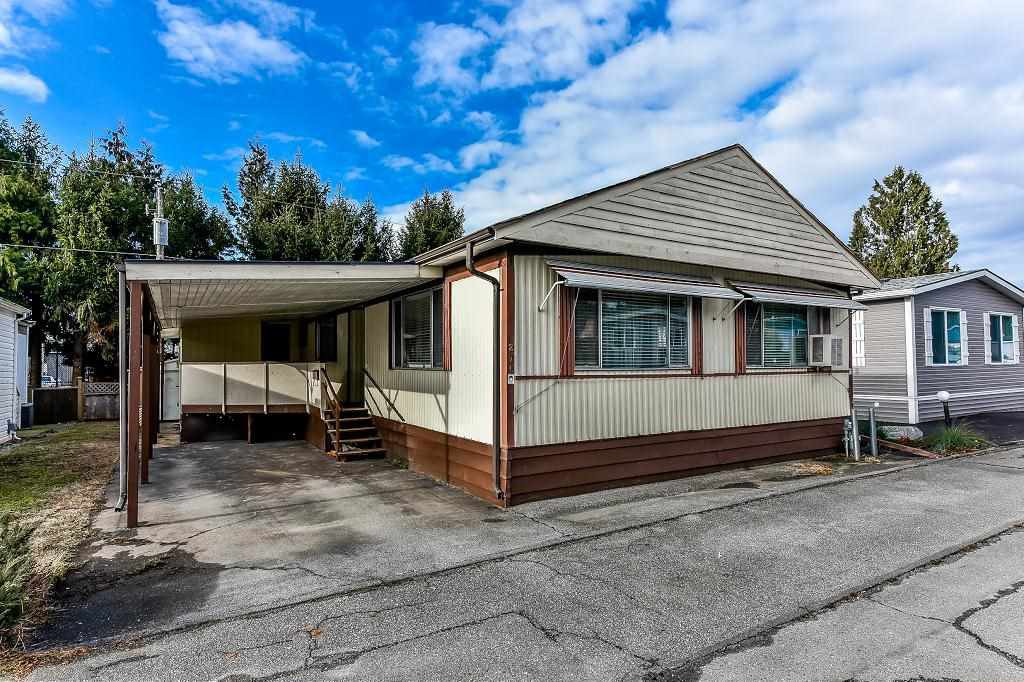 """Main Photo: 275 201 CAYER Street in Coquitlam: Maillardville Manufactured Home for sale in """"WILDWOOD PARK"""" : MLS®# R2333197"""