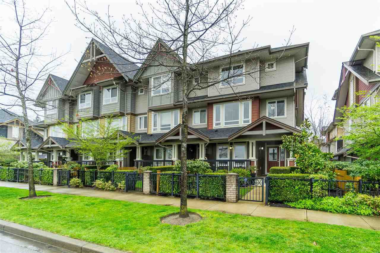 "Main Photo: 5 7088 191 Street in Surrey: Clayton Townhouse for sale in ""MONTANA"" (Cloverdale)  : MLS®# R2361073"