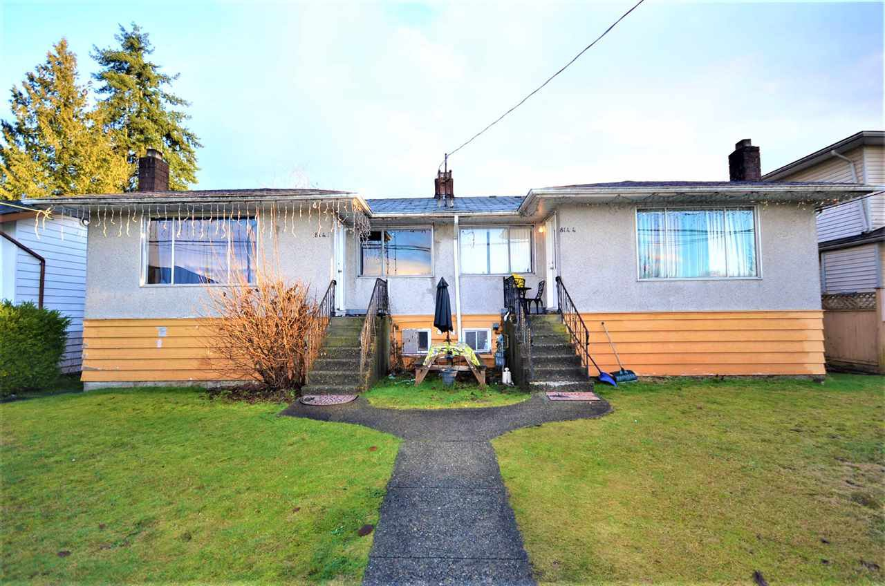 Main Photo: 8144 - 8146 16TH Avenue in Burnaby: East Burnaby House Duplex for sale (Burnaby East)  : MLS®# R2431909