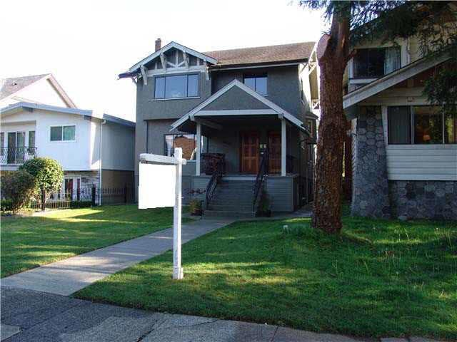 Main Photo: 3430 W 3RD Avenue in Vancouver: Kitsilano House for sale (Vancouver West)  : MLS®# V1120031