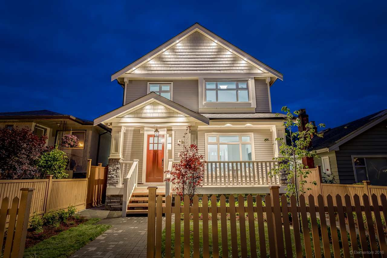 Main Photo: 1308 E 27 Avenue in Vancouver: Knight House 1/2 Duplex for sale (Vancouver East)  : MLS®# R2088304