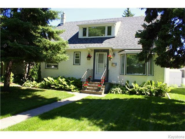 Main Photo: 217 Linwood Street in Winnipeg: Deer Lodge Residential for sale (5E)  : MLS®# 1620593