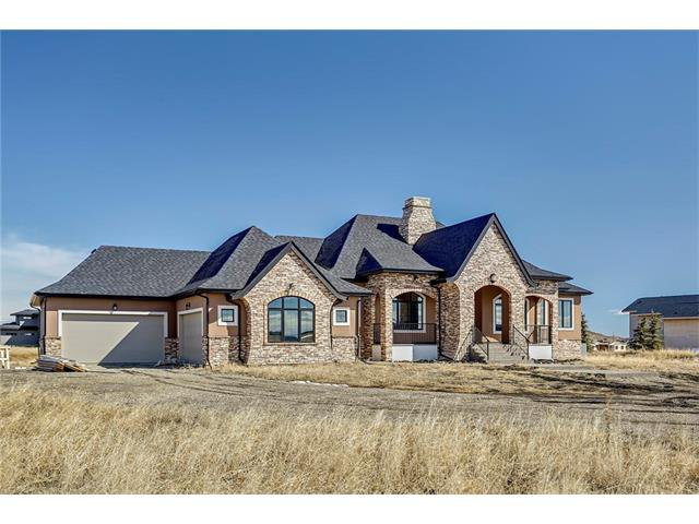 Main Photo: 242208 WINDHORSE Way in Rural Rocky View County: Rural Rocky View MD House for sale : MLS®# C4105562