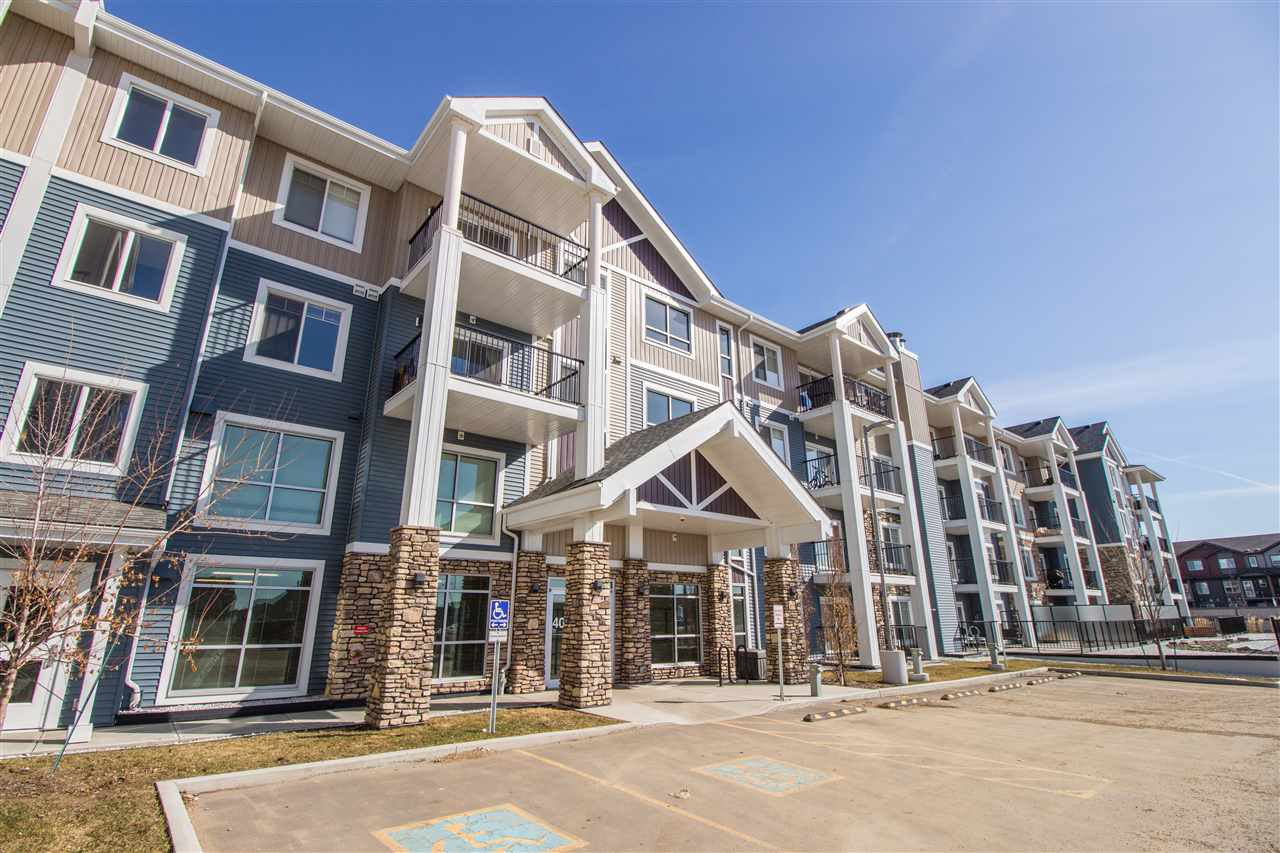 Main Photo: 422 4008 SAVARYN Drive in Edmonton: Zone 53 Condo for sale : MLS®# E4184856