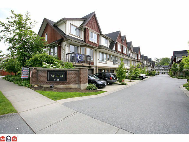 """Main Photo: 19 7155 189TH Street in Surrey: Clayton Townhouse for sale in """"Bacara"""" (Cloverdale)  : MLS®# F1114971"""