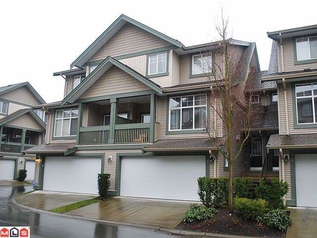 Main Photo: 30 6050 166TH Street in Surrey: Cloverdale BC Townhouse for sale (Cloverdale)  : MLS®# F1207927