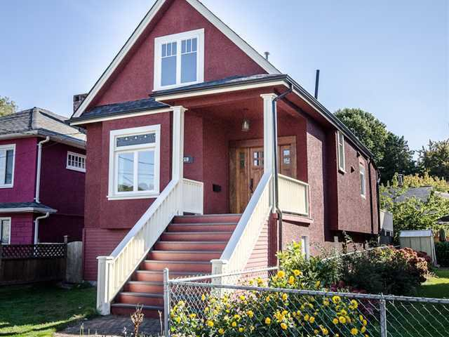 Main Photo: 510 E 20TH Avenue in Vancouver: Fraser VE House for sale (Vancouver East)  : MLS®# V985389