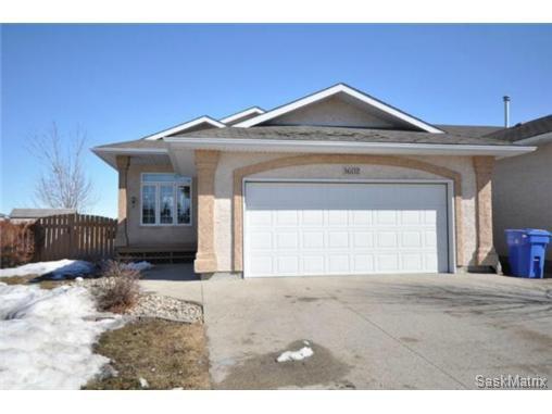 Main Photo: 3602 HAMMSTROM Way in Regina: Creekside Single Family Dwelling for sale (Regina Area 04)  : MLS®# 493462