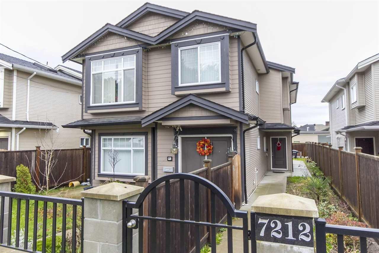 Main Photo: 7212 11 Avenue in Burnaby: Edmonds BE 1/2 Duplex for sale (Burnaby East)  : MLS®# R2020031