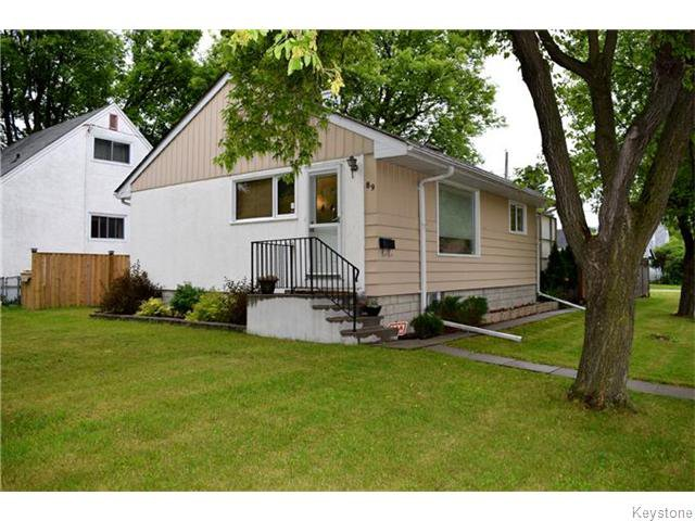 Main Photo: 89 Youville Street in Winnipeg: St Boniface Residential for sale (South East Winnipeg)  : MLS®# 1617880