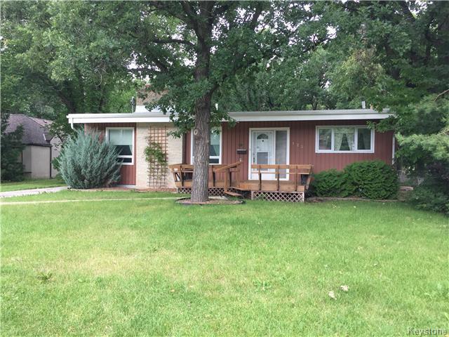 Main Photo: 123 St Pierre Street in Winnipeg: Residential for sale : MLS®# 1620835