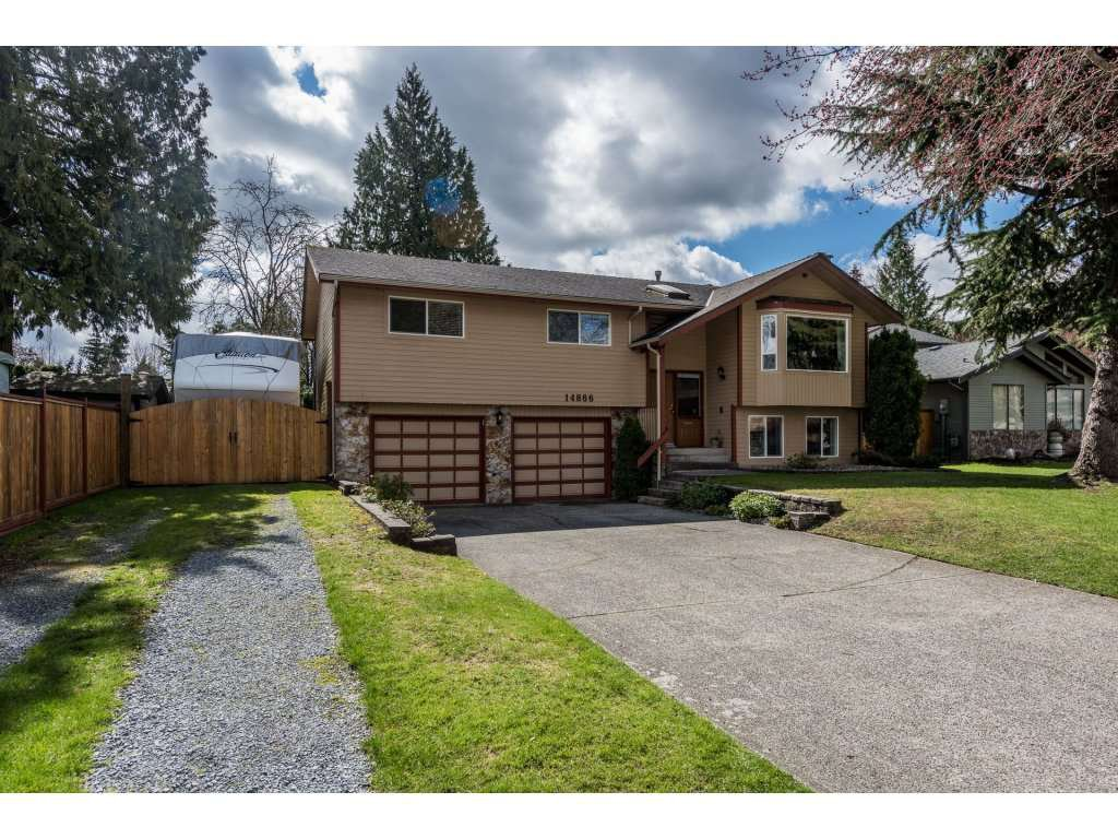 Main Photo: 14866 95 Avenue in Surrey: Fleetwood Tynehead House for sale : MLS®# R2152335