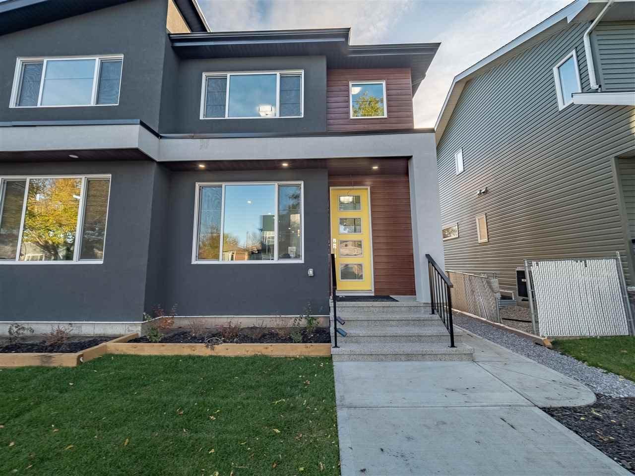 Main Photo: 8831 92 Street in Edmonton: Zone 18 House Half Duplex for sale : MLS®# E4177601