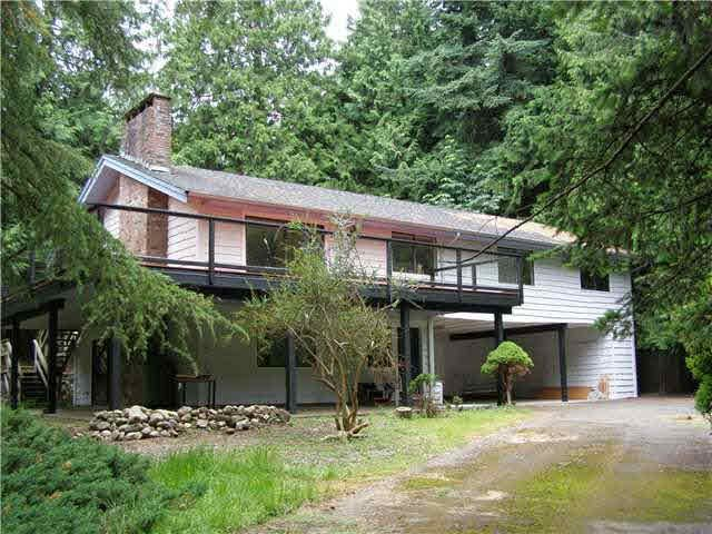 "Main Photo: 302 JASON Road: Bowen Island House for sale in ""TIMBER GROVE"" : MLS®# V1112127"