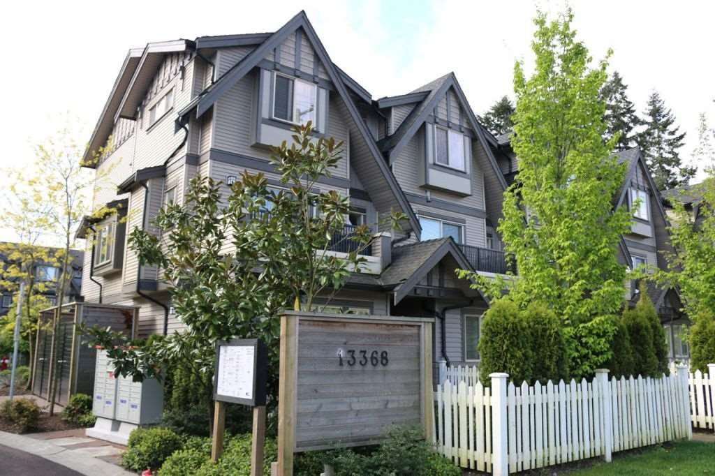 """Main Photo: 115 13368 72 Avenue in Surrey: West Newton Townhouse for sale in """"CRAFTON HILL"""" : MLS®# R2071517"""