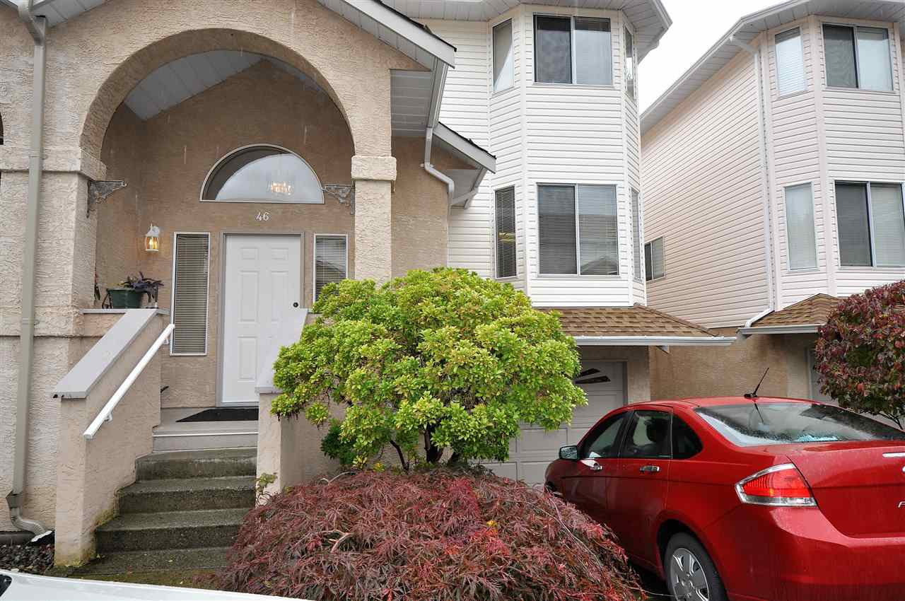 "Main Photo: 46 32339 7TH Avenue in Mission: Mission BC Townhouse for sale in ""Cedar Brook Estates"" : MLS®# R2117192"