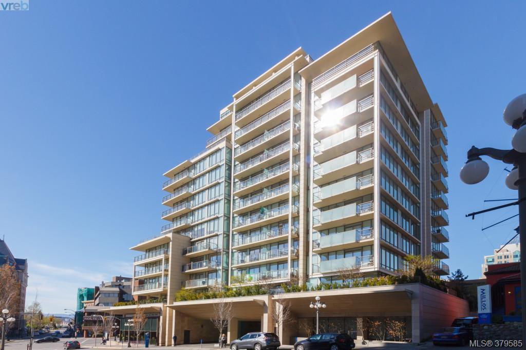 Main Photo: 604 708 Burdett Ave in VICTORIA: Vi Downtown Condo for sale (Victoria)  : MLS®# 762403