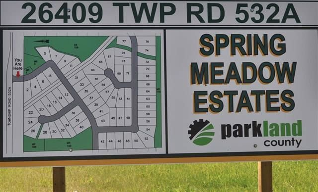 Main Photo: 67 26409 TWP Rd 532A: Rural Parkland County Rural Land/Vacant Lot for sale : MLS®# E4143292