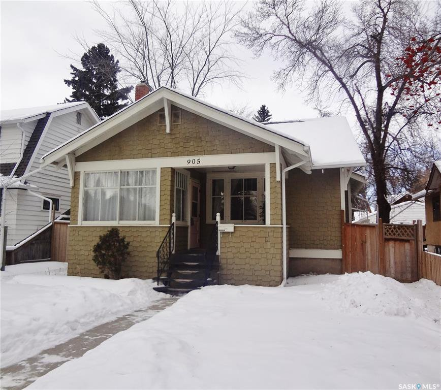 Main Photo: 905 TEMPERANCE Street in Saskatoon: Nutana Residential for sale : MLS®# SK760349