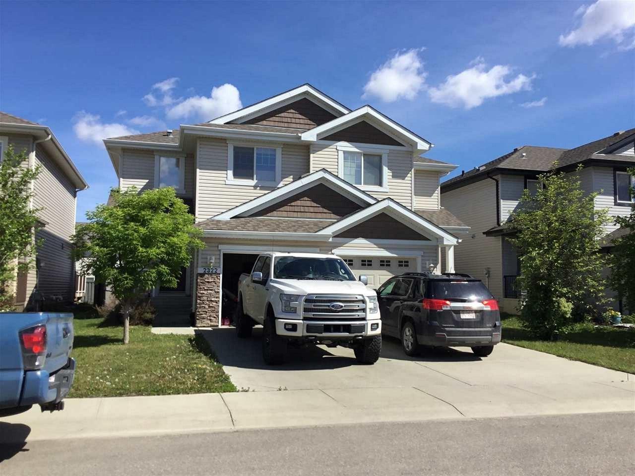 Main Photo: 2320 CASSELMAN Crescent in Edmonton: Zone 55 House Half Duplex for sale : MLS®# E4161908