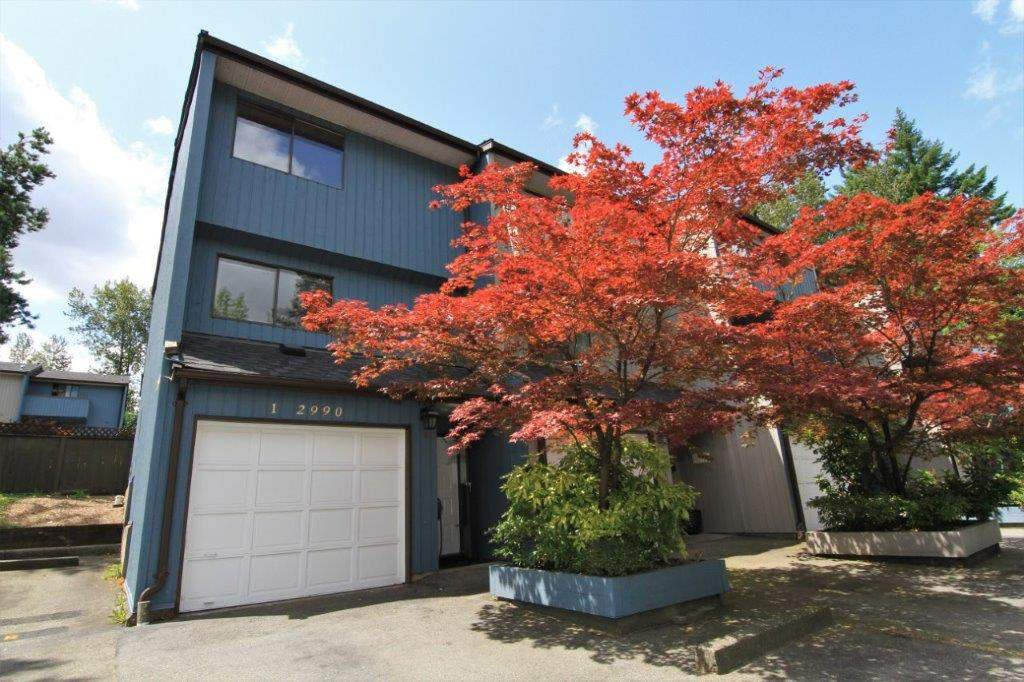 """Main Photo: 1 2990 MARINER Way in Coquitlam: Ranch Park Townhouse for sale in """"MARINER MEWS"""" : MLS®# R2389174"""